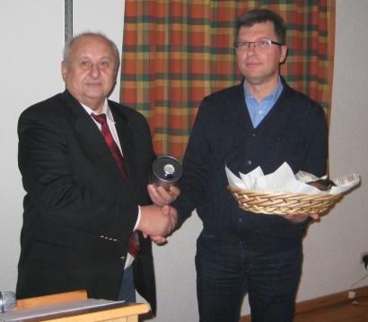 Ehrenamtsbeauftragter Emil Schneiderbanger und Bernhard Landgraf